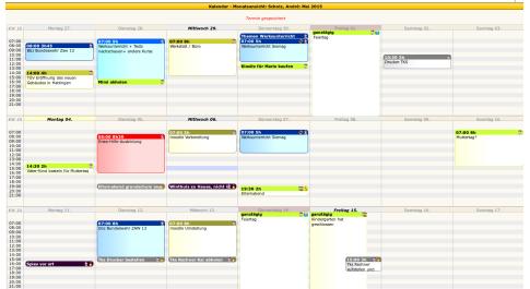 Kalender-Firefox